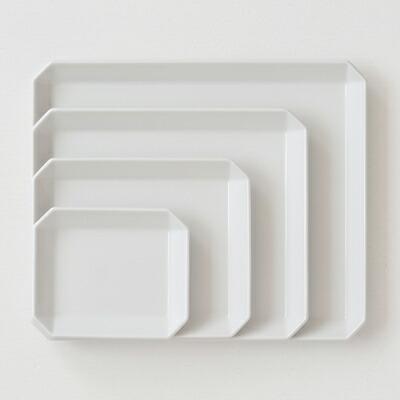スクエアプレート(1616アリタジャパン) squere plate(1616 arita japan)