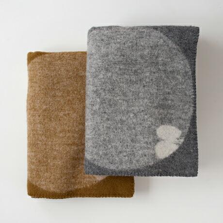 ペルホネン ウールブランケット ハーフ 90×130cm(クリッパン×ミナ ペルホネン) PERHONEN Wool Blanket Harf(KLIPPAN×mina perhonen)