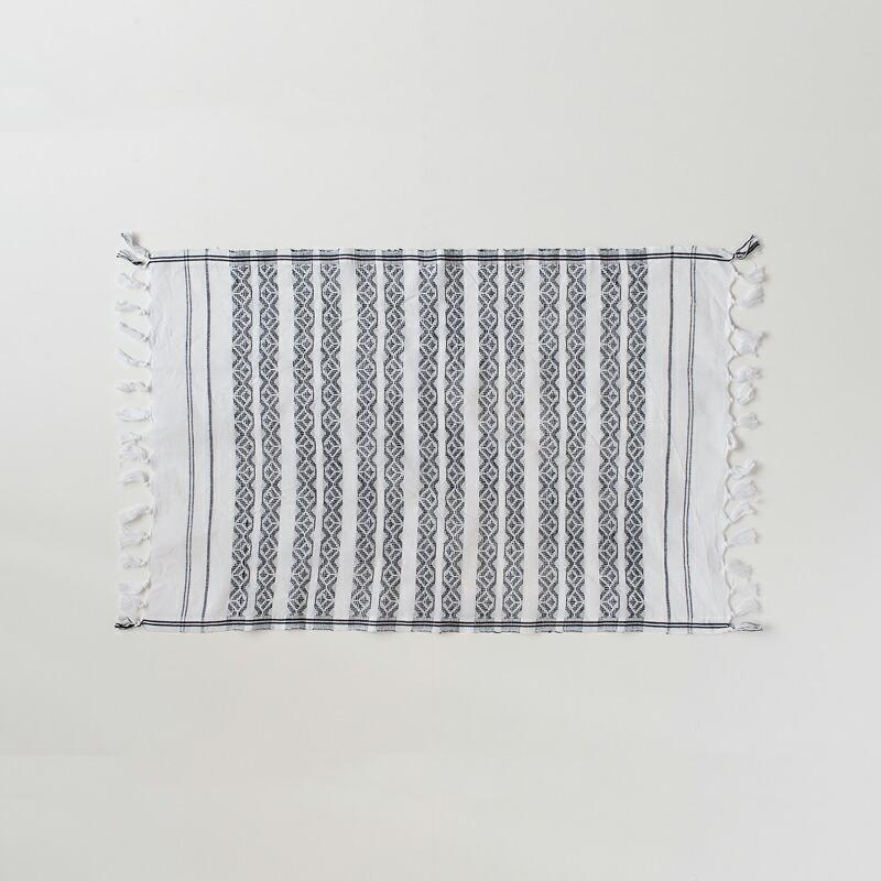 タオル・マルチクロス 40×65cm チャコール(カディアンドコー) Towel・Multi Cloth Chacoal(Khadi and Co)
