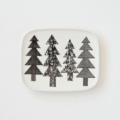 スクエアプレート クーシコッサ(マリメッコ) Square Plate(marimekko)