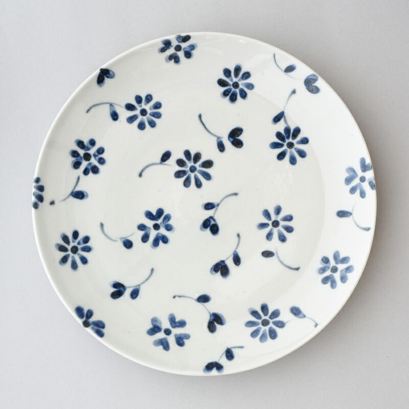 花づくし 4寸皿(陶房ななかまど)