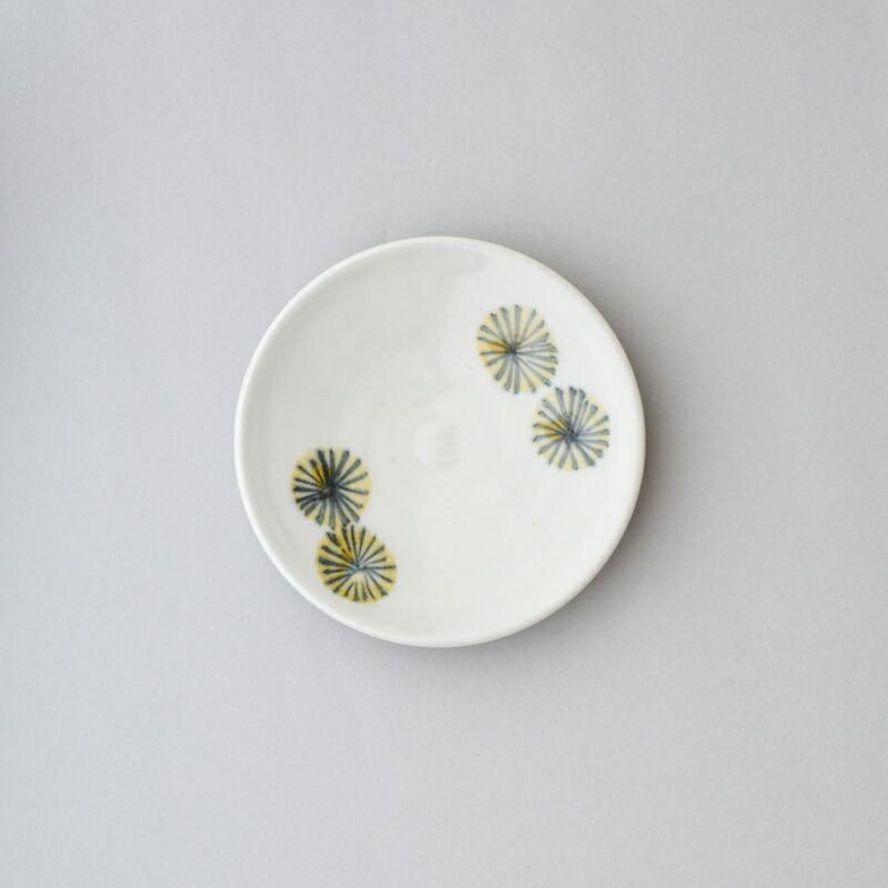 菊花 3.5寸皿(陶房ななかまど)