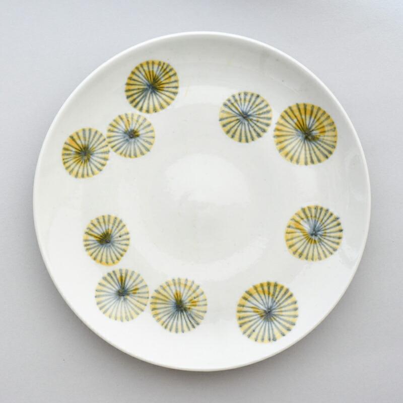 菊花 6.5寸皿(陶房ななかまど)