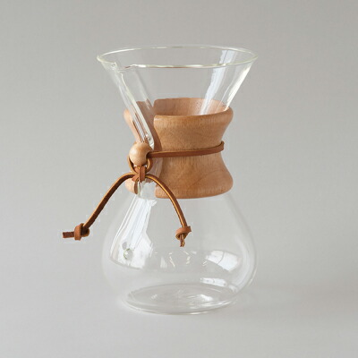 コーヒーメーカー 6カップ CM-6A(ケメックス) Coffee Maker 6cup CM-6A(CHEMEX)
