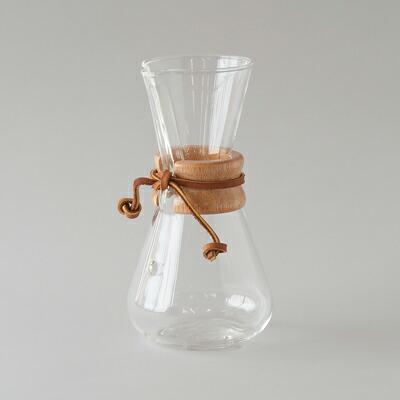 コーヒーメーカー 3カップ(ケメックス) Coffee Maker 3Cup(CHEMEX)