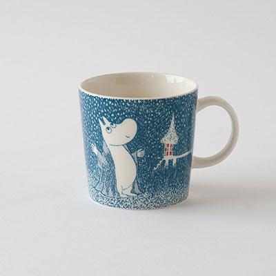 【2018年冬季限定】ムーミンマグ ライト スノーフォール(アラビア) Moomin Mug Light Snowfall(ARABIA)