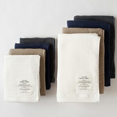 2.5重ガーゼタオル(神藤タオル) 2.5-PLY GAUZE TOWEL(SHINTO TOWEL)