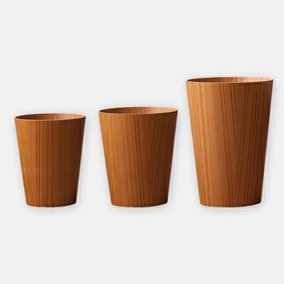 プライウッドダストボックス チーク(サイトーウッド) Plywood Dustbox(SAITO WOOD)