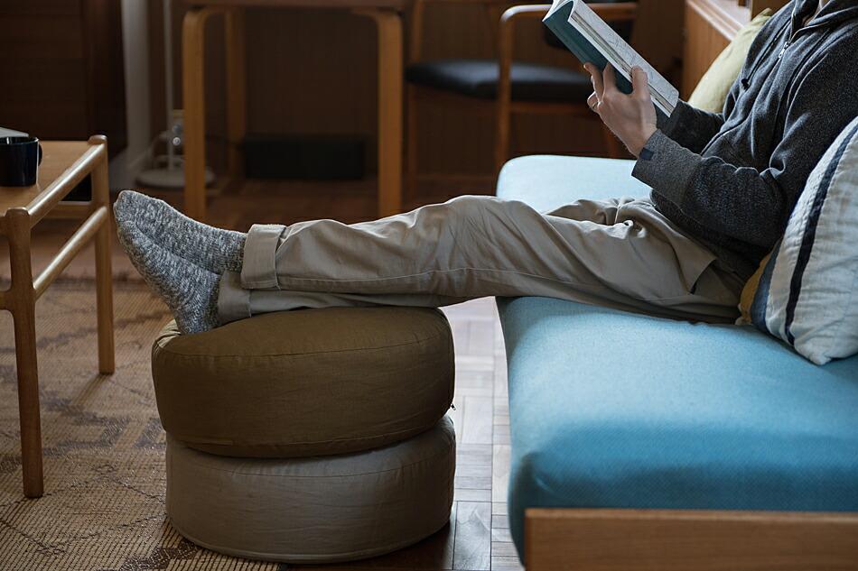 リネンクッションチェア(ファイバーアートステューディオ) linen cushion chair(FIBER ART STUDIO)