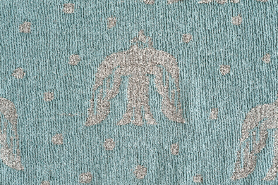 birds in the snow  リネン&シュニールコットンブランケット(KLIPPAN/クリッパン×ミナ ペルホネン/mina perhonen)北欧 寝具 夏掛け