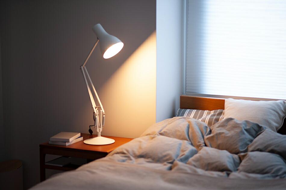 アングルポイズ,デスクランプ,フロアランプ,照明,あんぐるぽいず,アングルポイズ,デスクランプ,フロアスタンディングポール,間接照明,シンプルインテリア,機能美,TYPE75、暮らしの道具