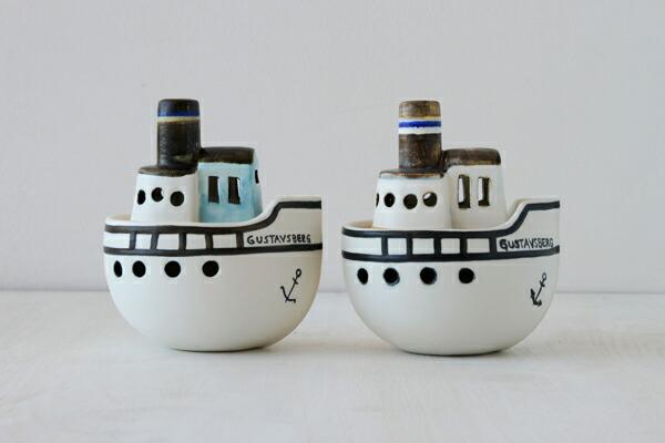 Lisa Larson Gustavsberg Boat