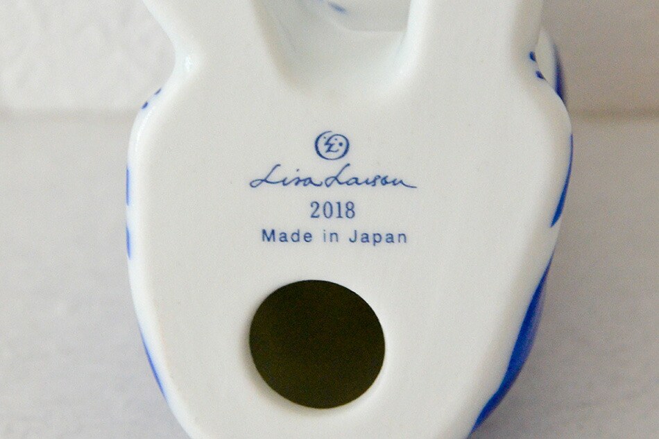Lisa Larson Japan Series とりをみるいぬ