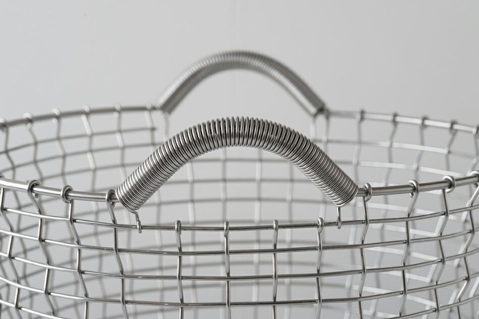 ステンレス ワイヤー バスケット,コルボ,KORBO,北欧インテリア,北欧雑貨,北欧かご,ランドリーバスケット,KORBO Classic 24