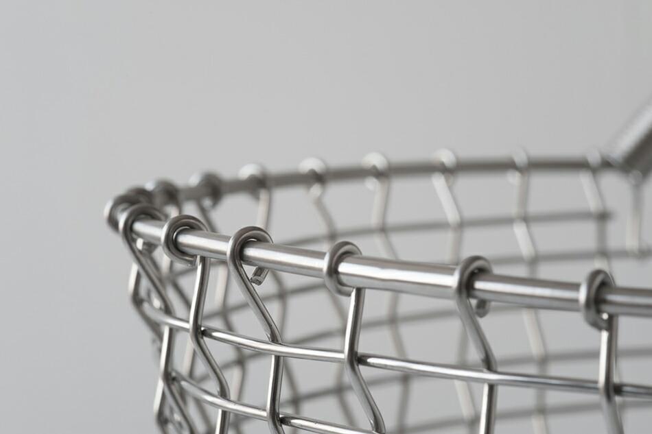 ステンレス ワイヤー バスケット,コルボ,KORBO,北欧インテリア,北欧雑貨,北欧かご,ランドリーバスケット,