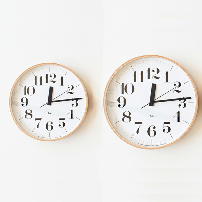 リキクロック 電波時計(レムノス) Riki Clock(Lemnos)