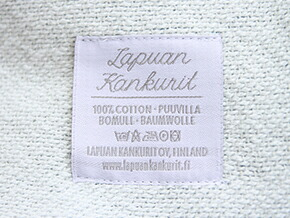 LAPUAN KANKURIT Cotton Blanket 90×140cm