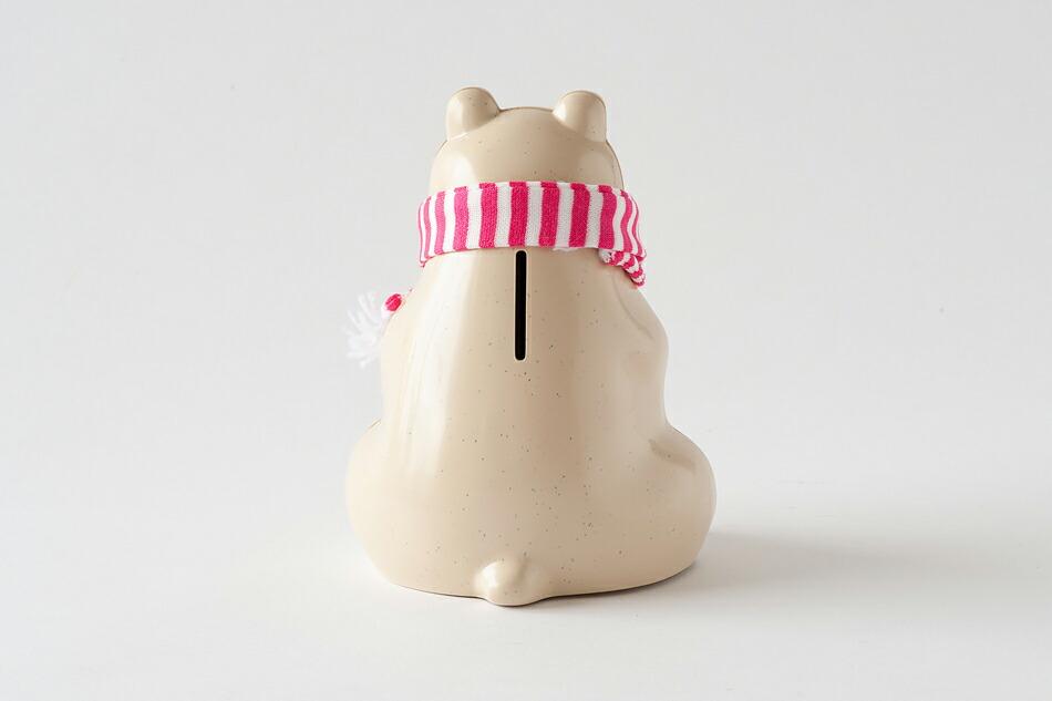シロクマ貯金箱(エムケートレスマー) Polar Bear Money Box(MK Tresmer)