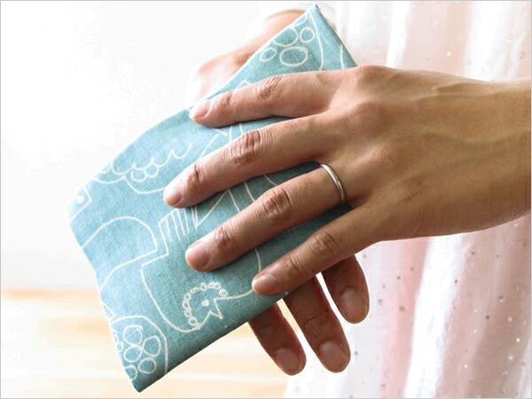 BIRDS' WORDS Linen Handkerchief