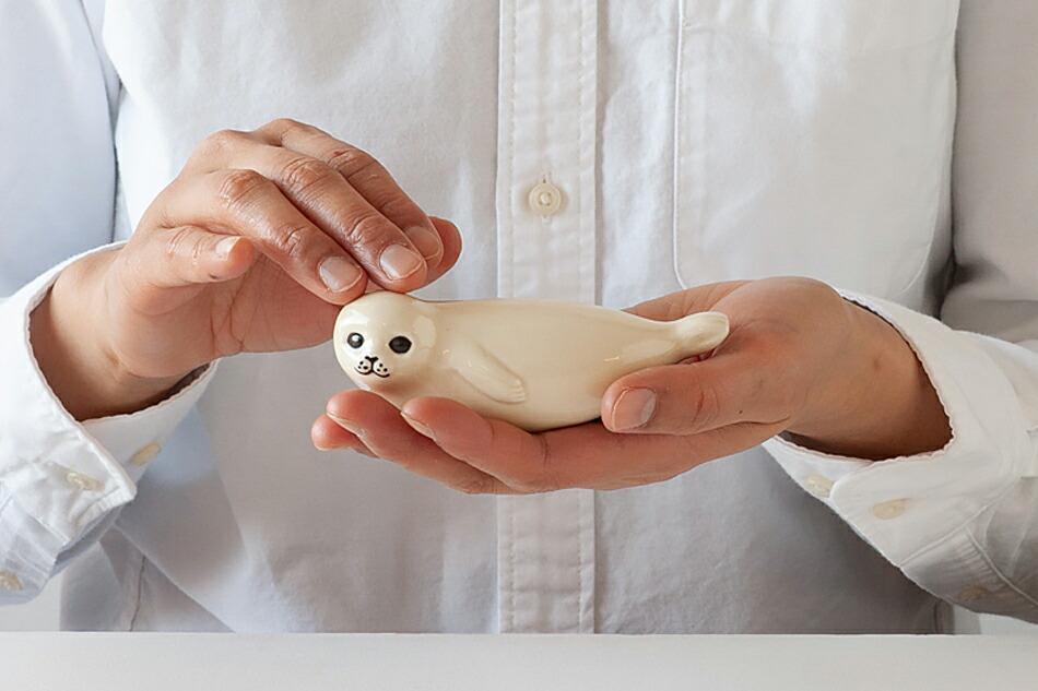 アザラシ(リサ・ラーソン) seal(Lisa Larson)