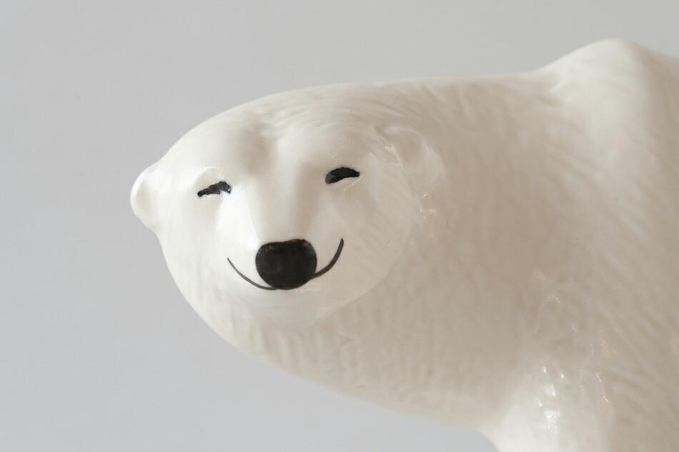 シロクマ(リサ・ラーソン) POLAR BEAR(Lisa Larson)