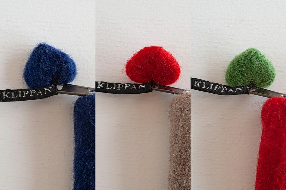 フェルトポーチ(クリッパン) Felt pouch(KLIPPAN)