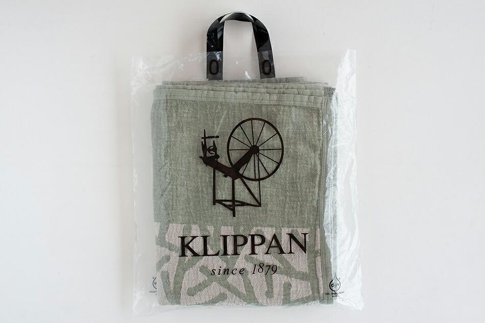 リネン&シュニールコットン ブランケット シングル(クリッパン) LINEN & CHENILLE COTTON BLANKET(KLIPPAN)