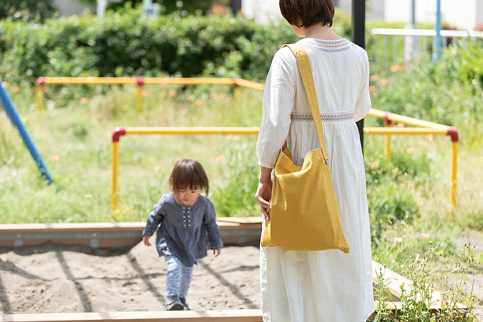キャンバスフラットショルダー(松野屋 スレッドライン) Canvas Flat Shoulder(MATSUNOYA THREAD LINE)