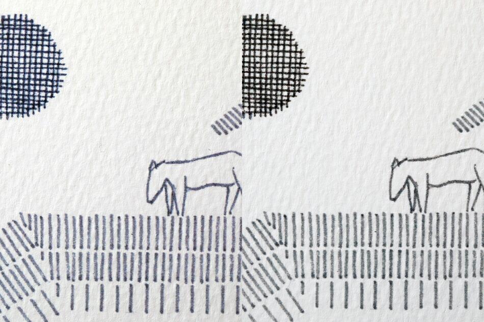 皆川明 アートコレクション ポスター(クリッパン) AKIRA MINAGAWA Art Collection Poster(KLIPPAN)