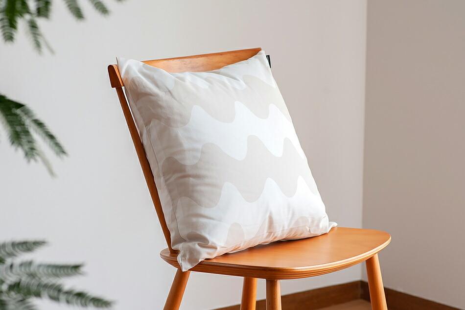 クッションカバー(マリメッコ)Cushion Cover(marimekko)ロッキ/Lokki(カモメ)