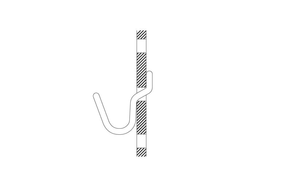 ペグボード(アマブロ) PEG BOARD(amabro)