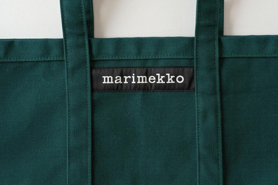 ペルスカッシ/Peruskassi  トートバッグ(マリメッコ/marimekko)ダークグリーン