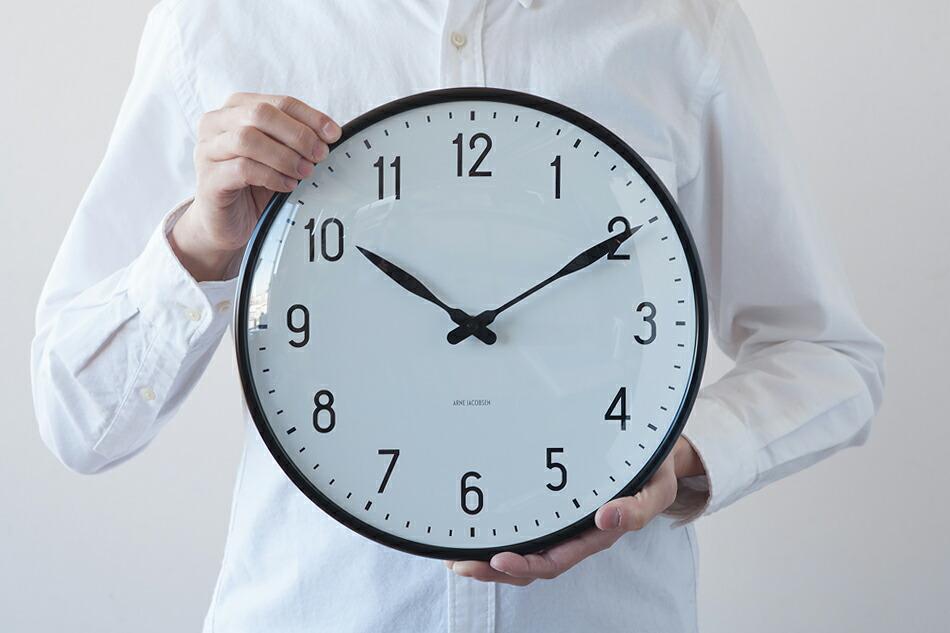 アルネ ヤコブセン ステーション ウォールクロック(ローゼンダール) ARNE JACOBSEN Station Wall Clock(ROSENDAHL)