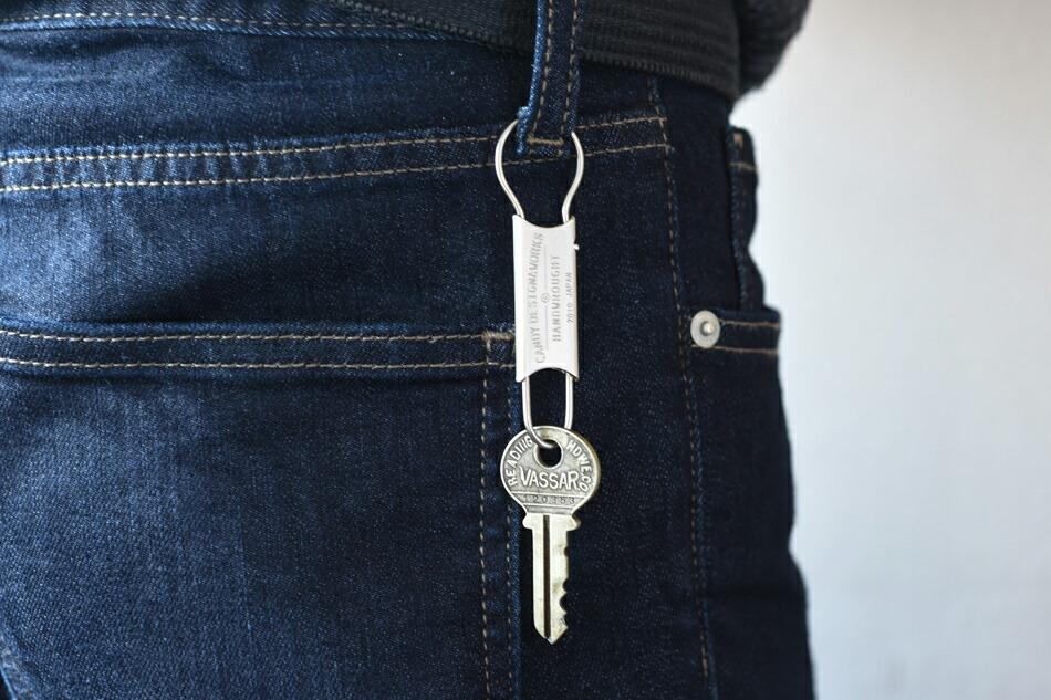 ゴードン クリップキーリング(キャンディデザイン&ワークス) Gordon Clip Key Ring(CANDY DESIGN & WORKS)