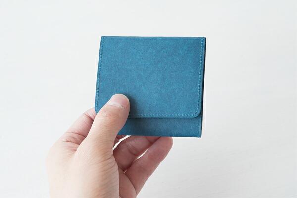 SIWA | 紙和 コインケース スナップ付