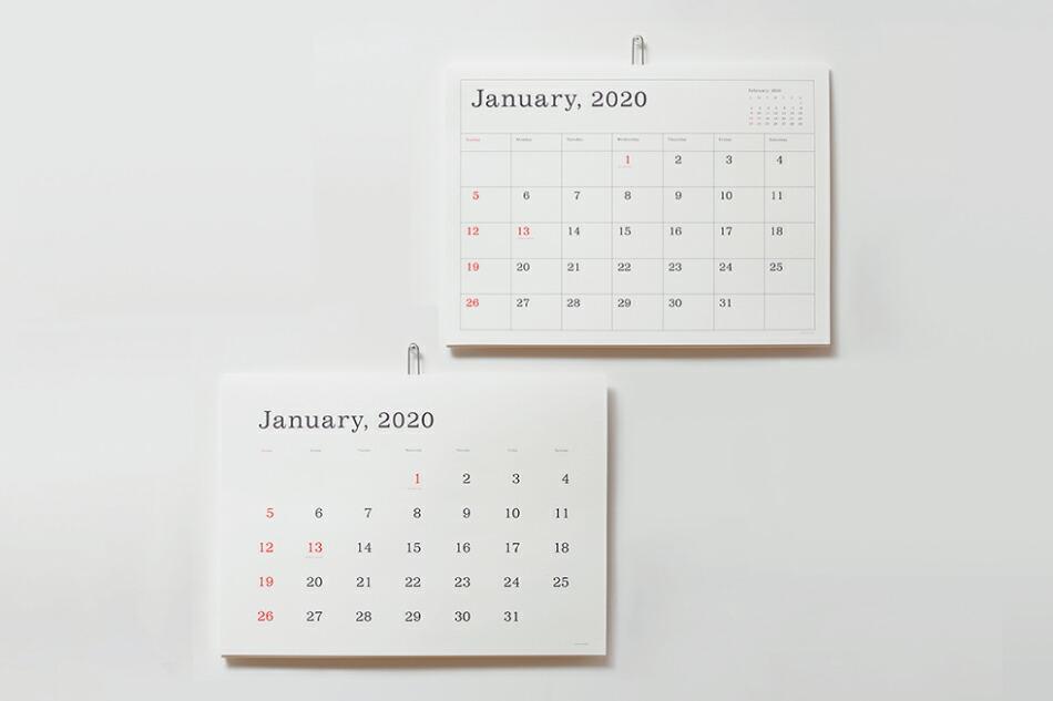 ANDO GALLERY 葛西薫カレンダー2020