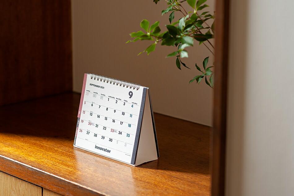 カレンダー 2021(イノベーター) Calendar 2021(innovator)