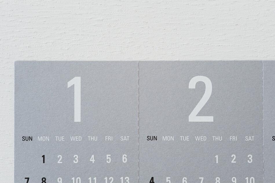 トライアングラーカレンダー(リプラグ) Triangular 2020(Re+g)
