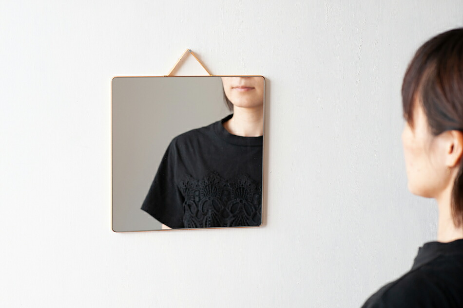 ルーバン ミラー(ヘイ) RUBAN Mirror(HAY)