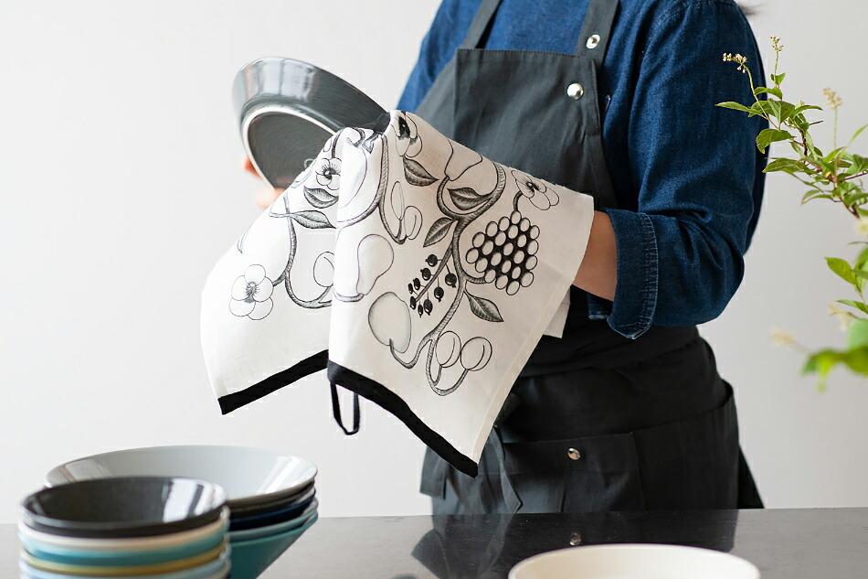 オーチャード キッチンタオル(クオヴィ) Orchard Kitchen Towel(Kuovi)