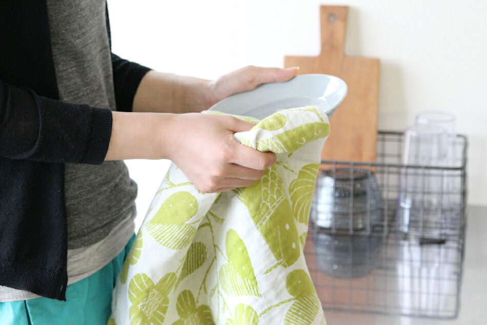 LAPUAN KANKURIT×鹿児島睦 Kitchen Towel