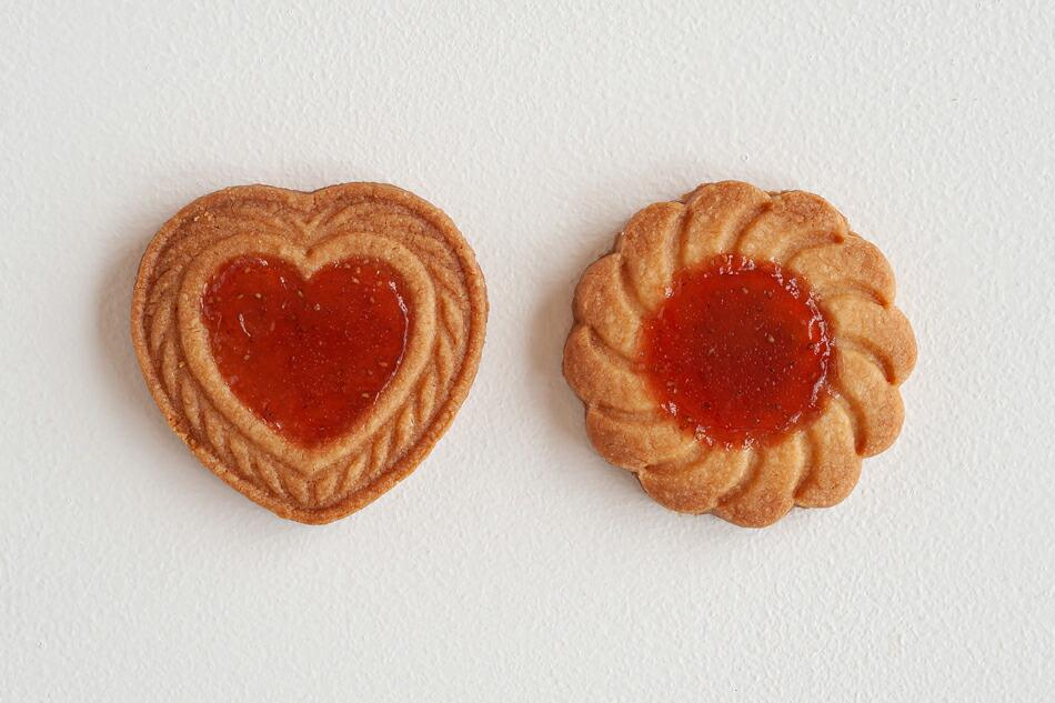 いちごジャムクッキーアソート缶(いちびこ) Strawberry jam cookie(ICHIBIKO)