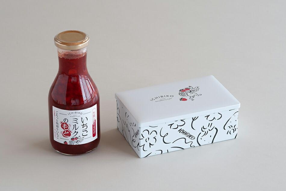 いちごミルクのもと(いちびこ) Strawberry milk(ICHIBIKO)