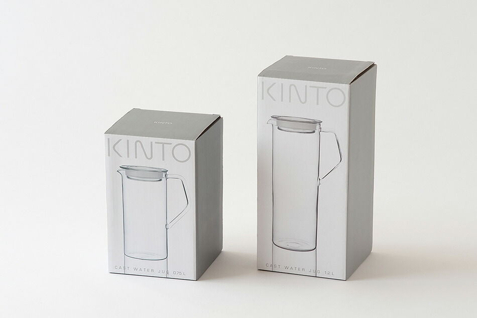 キャストウォータージャグ(キントー) CAST WATER JUG(KINTO)