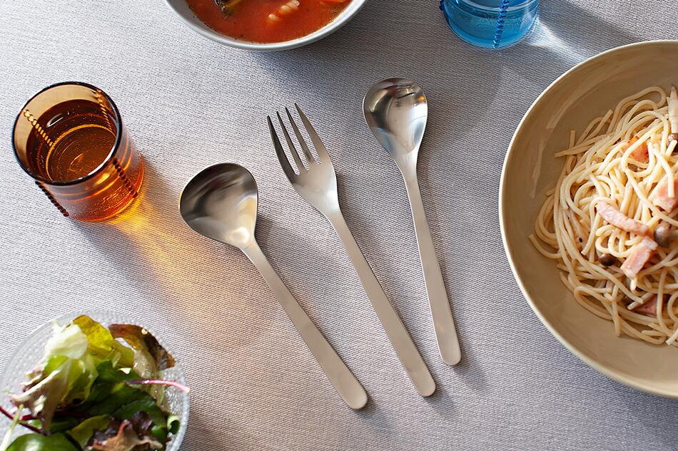 ステンレスカトラリー(柳宗理) Stainless Cutlery(Sori Yanagi)