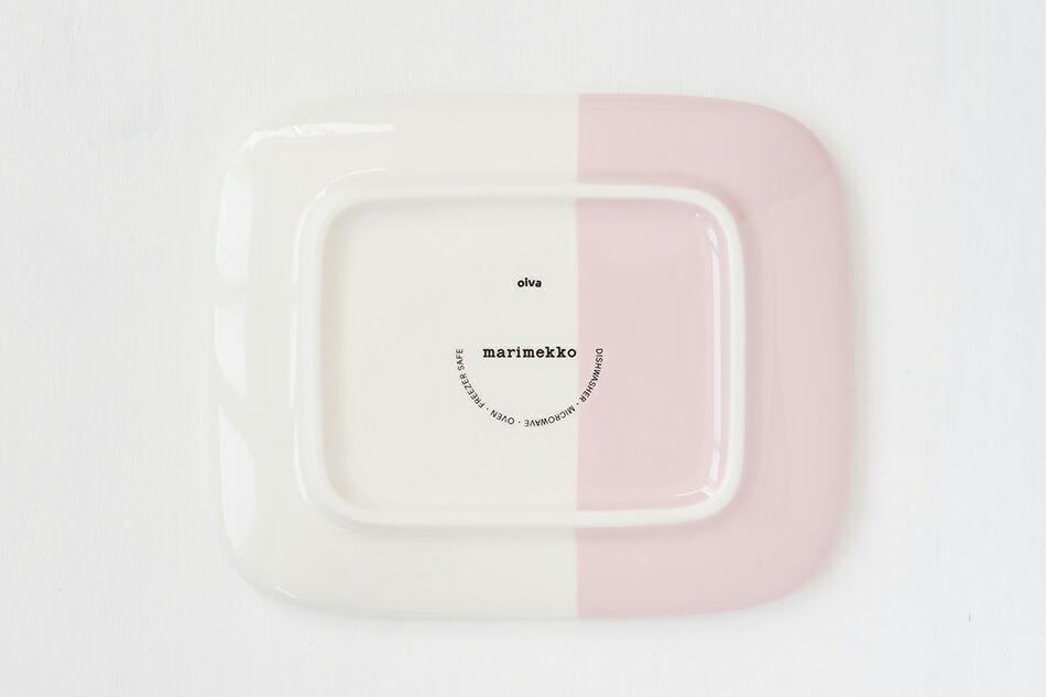 スクエアプレート(マリメッコ) Square Plate(marimekko)