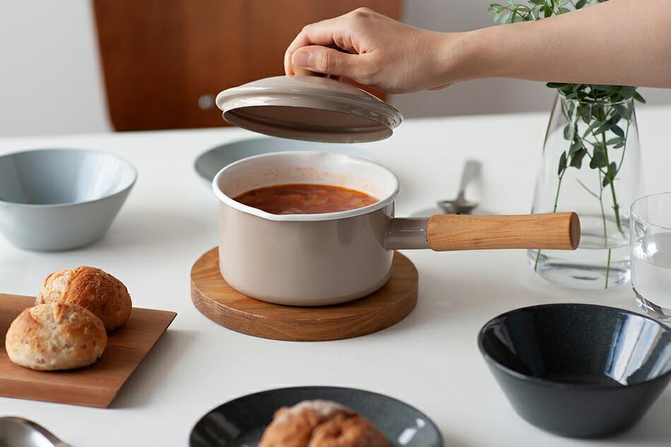 クルール ソースパン(野田琺瑯) Couleur Sauce Pan(Noda Horo)