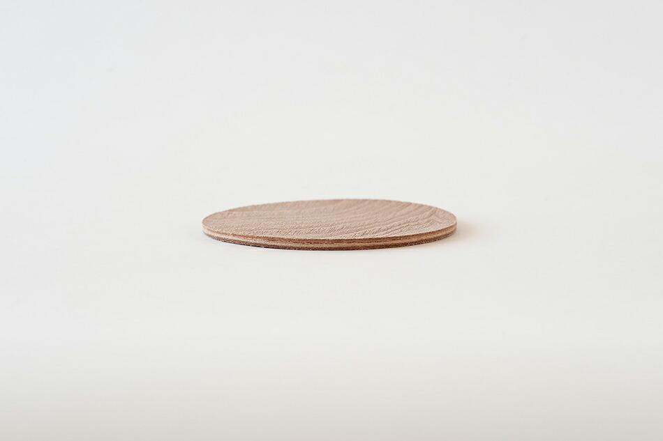 プライウッドコースター(イロセ) Plywood coaster(i ro se )