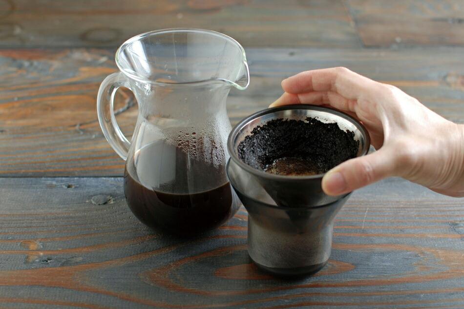 スロウ コーヒー スタイル コーヒーカラフェ セット 4カップ(キントー) SLOW COFFEE STYLE(KINTO)