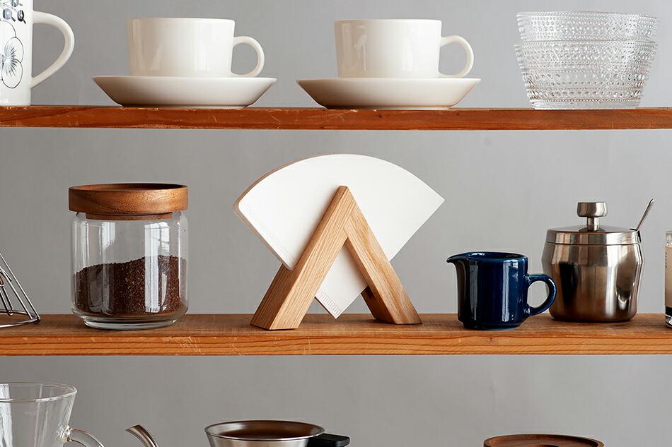 コーヒーフィルターホルダー(アンバイ) COFFEE FILTER HOLDER(ambai)